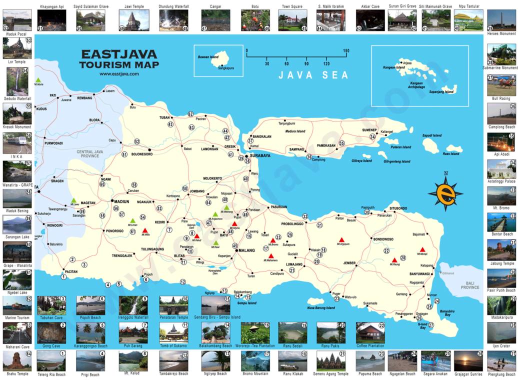 Paket Tour Jawa Timur