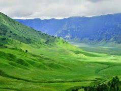 Bukit Savana Teletubbies Bromo
